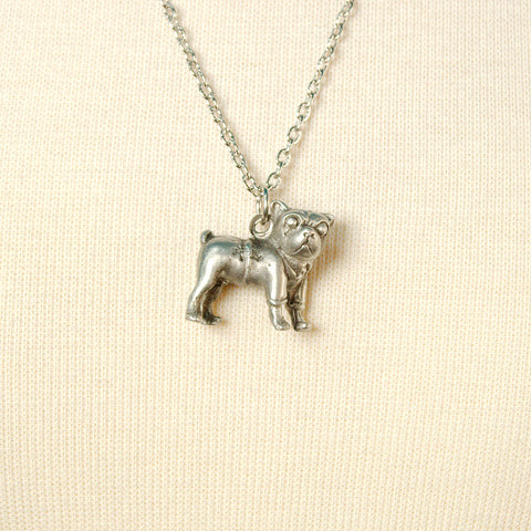 Pugsly Pug Necklace - Cats Like Us