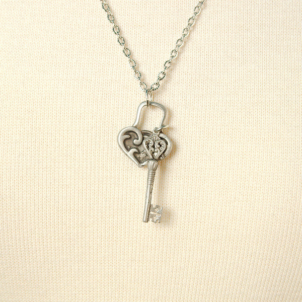 MobTown Unlock My Heart Necklace for sale at Cats Like Us - 3