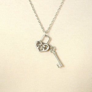 Unlock My Heart Necklace by MobTown : Cats Like Us