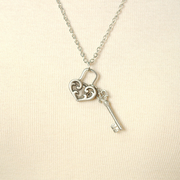 MobTown Unlock My Heart Necklace for sale at Cats Like Us - 1