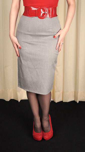 Mode Merr Raised Grey Perfect Skirt for sale at Cats Like Us - 1