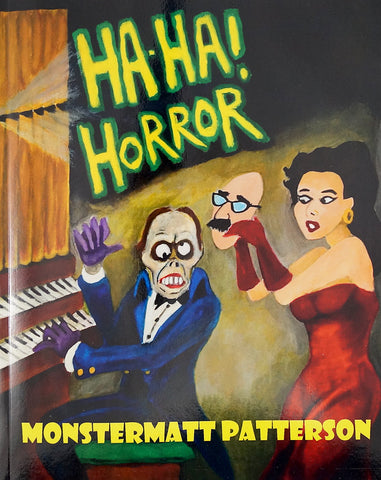 Ha Ha Horror Joke Book by MonsterMatt : Cats Like Us