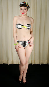 Mae Striped Bikini Bathing Suit - Cats Like Us