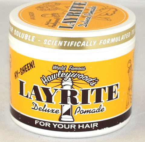 Hawleywoods Original Layrite Hair Pomade (4oz) for sale at Cats Like Us - 2