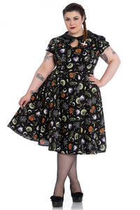 Salem 50s Swing Dress by Hell Bunny : Cats Like Us