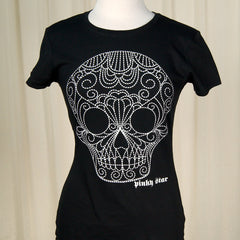Dotted Sugar Skull T Shirt