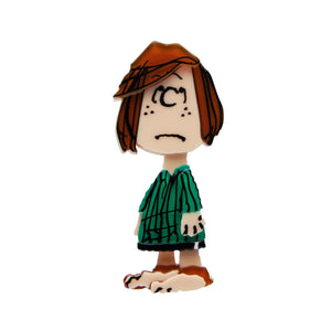 Peppermint Patty Peanuts Brooch