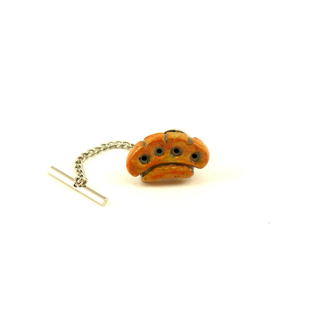 Brass Knuckles Tie Tack by Rat Bastard Rockabilly