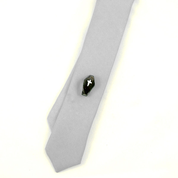 Black Coffin Tie Tack - Cats Like Us