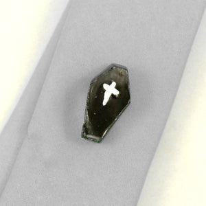 Black Coffin Tie Tack by Rat Bastard Rockabilly : Cats Like Us