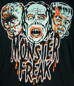 Monster Freak Halloween Mens T by Retro A Go Go : Cats Like Us