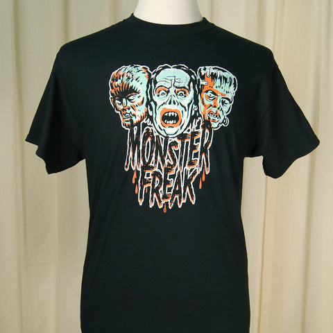 Monster Freak Halloween Mens T - Cats Like Us