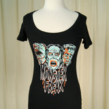 Retro A Go Go Monster Freak Womens T Shirt