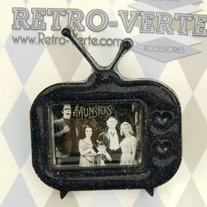 The Munsters TV Brooch by Retro-Verte : Cats Like Us