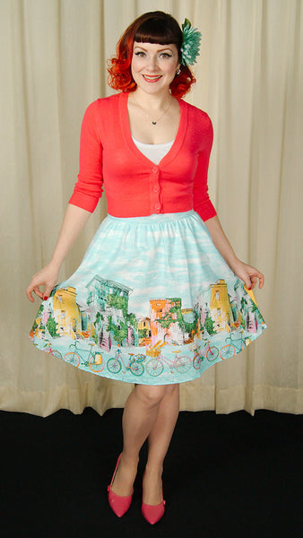 Alices Adventures Bicycle Skirt - Cats Like Us