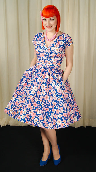 Blooming Greta Floral Dress - Cats Like Us
