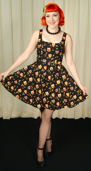 Hootenanny Owl Dress - Cats Like Us