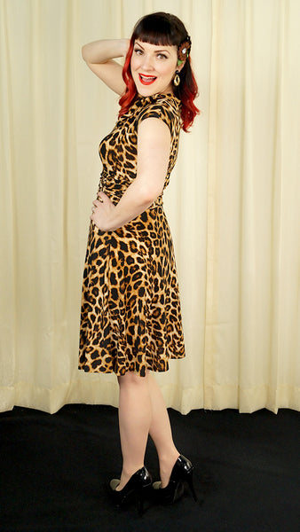 Leopard Bombshell Dress by Retrolicious : Cats Like Us