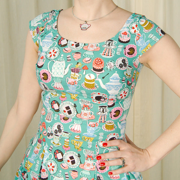 Mad Hatter Tea Party Dress