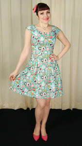 Mad Hatter Tea Party Dress by Retrolicious : Cats Like Us