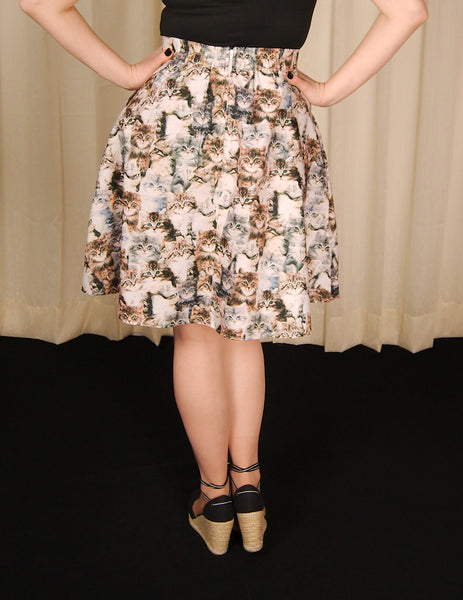 Real Meow Meow Cat Skirt