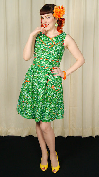 Toucan Button Dress