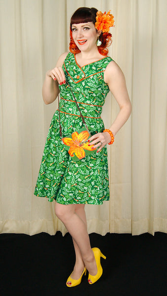 Toucan Button Dress by Retrolicious : Cats Like Us