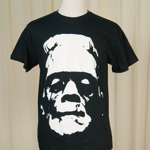 Frankenstein Head T Shirt