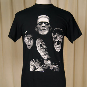Horror Monsters Band T Shirt by Rock Rebel : Cats Like Us