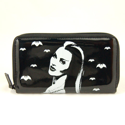 Lily Munster Zipper Wallet by Rock Rebel : Cats Like Us