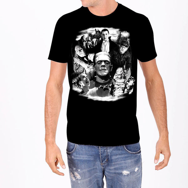Monster Collage Mens T by Rock Rebel : Cats Like Us