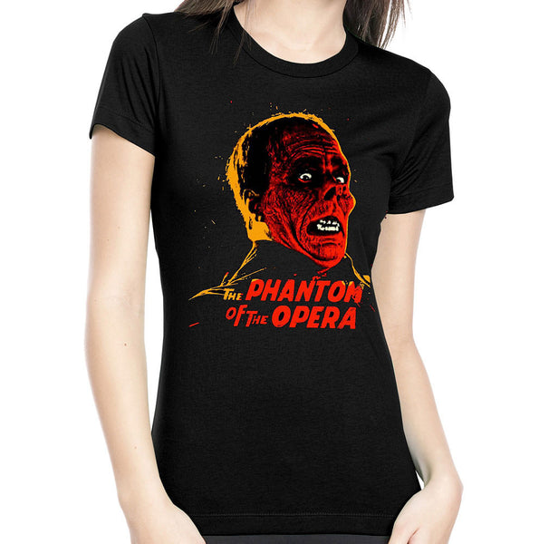 Rock Rebel Phantom of the Opera Ladies T for sale at Cats Like Us - 2