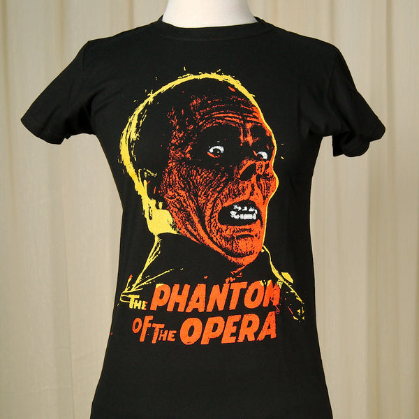 Rock Rebel Phantom of the Opera Ladies T for sale at Cats Like Us - 1