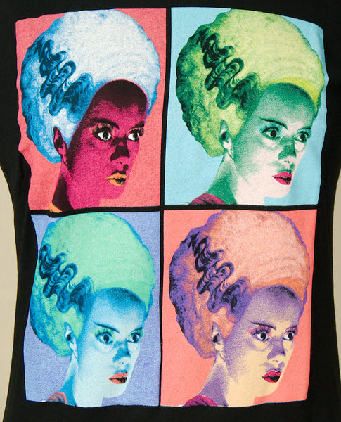 Warhol Bride of Frankenstein - Cats Like Us
