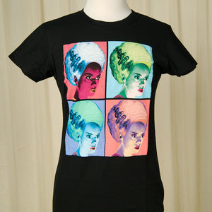 Warhol Bride of Frankenstein by Rock Rebel : Cats Like Us