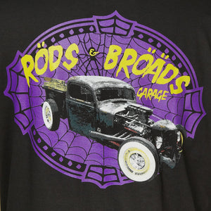 Rods & Broads Garage Web T by Rods & Broads : Cats Like Us