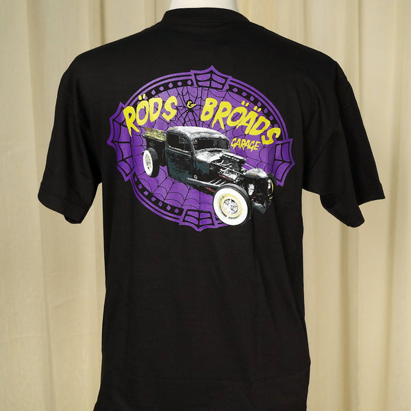 Rods & Broads Garage Web T - Cats Like Us