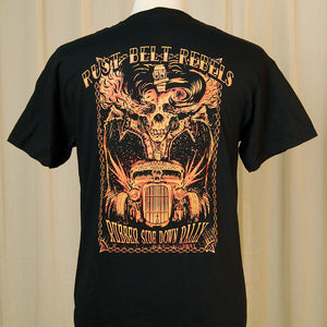 Rubber Side Down Rebels T Shirt by Rust Belt Rebels CC : Cats Like Us