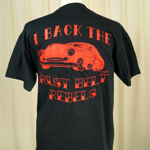 Support Rust Belt Rebels CC T - Cats Like Us