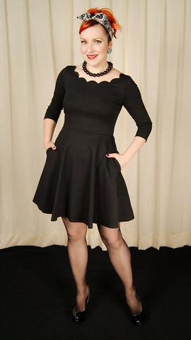 All Bright with Me Black Dress by Smak Parlour - Cats Like Us