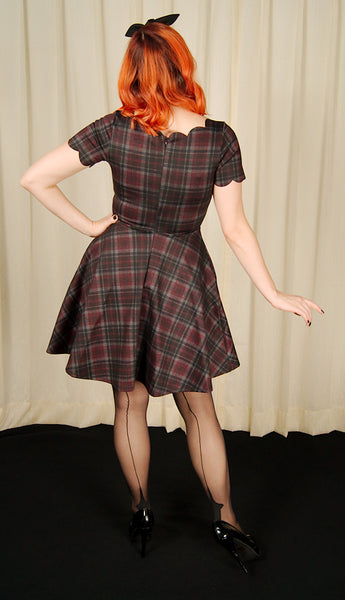 Plaid Charmed Flair Dress by Smak Parlour : Cats Like Us