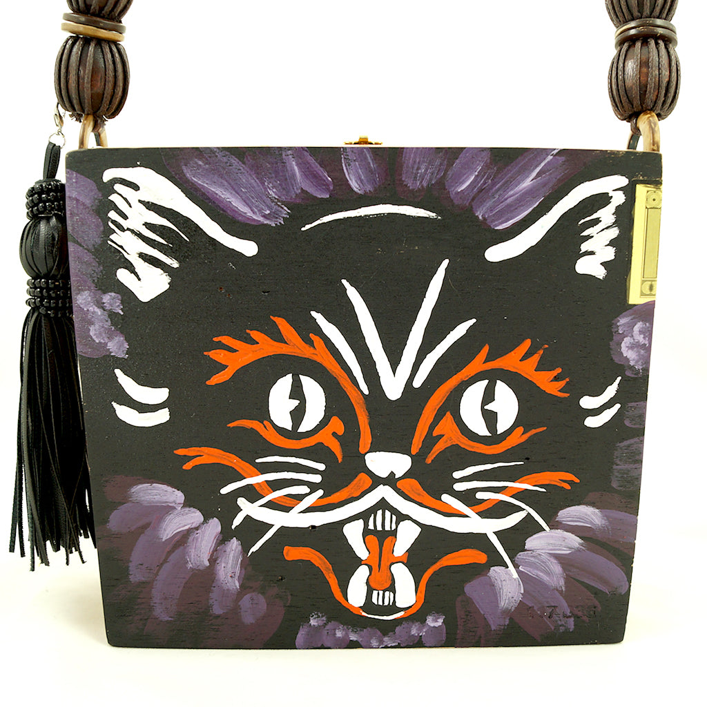 Black Cat Cigar Box Purse by Smoking Hot Bags - Cats Like Us