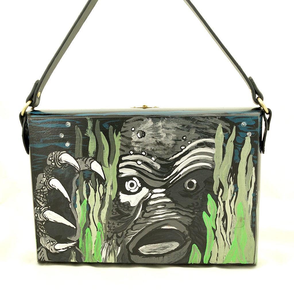 Creature From the Lagoon Purse - Cats Like Us