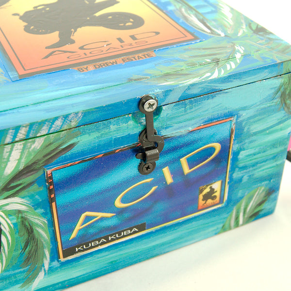Smoking Hot Bags Flirty Flamingo Cigar Box Bag for sale at Cats Like Us - 7