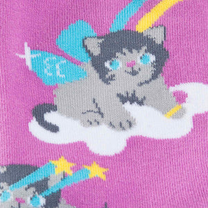 A Purrrfect World Crew Socks