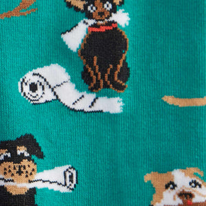 Chew on This Doggo Socks by Sock It to Me : Cats Like Us