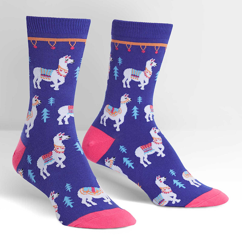 Como Te Llamas Crew Socks by Sock It to Me : Cats Like Us