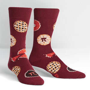 Easy as Pi Crew Socks