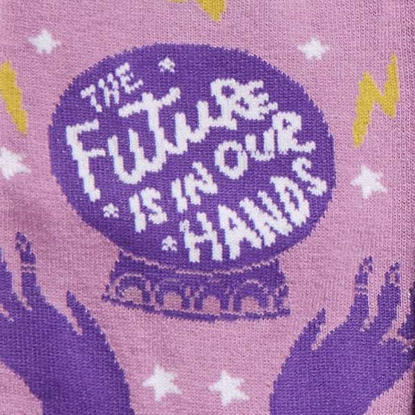 Future is in Our Hands Socks