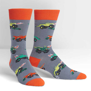 Monster Trucks Crew Socks by Sock It to Me : Cats Like Us